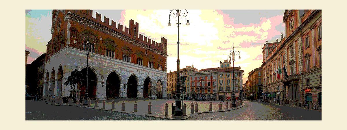 Piacenza - Piazza dei Cavalli e Palazzo Gotico