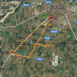 Piacenza - Gossolengo - Pittolo - Piacenza
