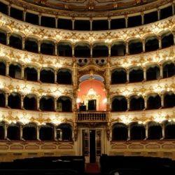 interno del Teatro Verdi - Piacenza