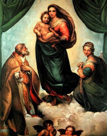 Raffaello. La Madonna Sistina
