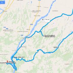 itinerario lungo da Agriturismo Locanda di Spettine