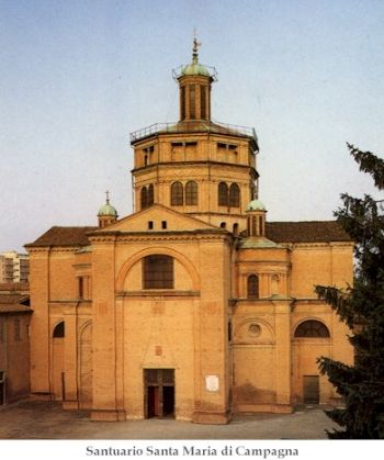 Piacenza da vedere: Santuario Santa Maria di Campagna