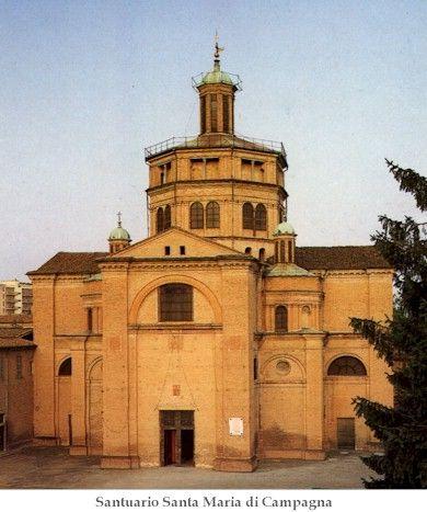 santuario santa  Maria di Camoagna Piacenza