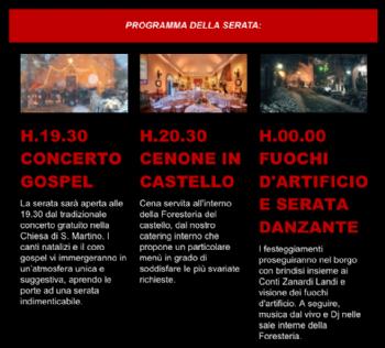 CAPODANNO AL CASTELLO CON I CONTI ZANARDI LANDI